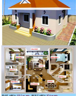 3 bedroonms